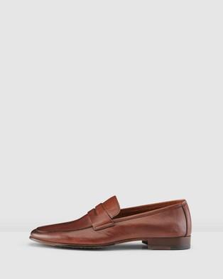 Aquila Eduardo Loafers - Flats (Tan)
