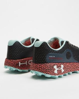 Under Armour UA HOVR Machina Off Road   Women's - Performance Shoes (Jet Grey, Beta & Seaglass Blue)