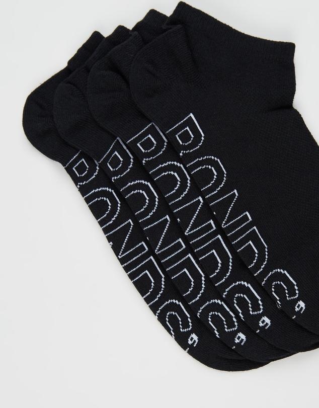 Women Logo Lightweight Low Cut 4 Pack Socks