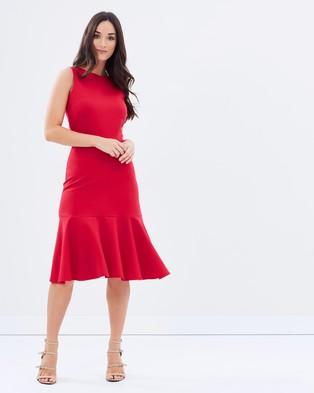 Closet London – Closet Fitted Dress with Violant Hem