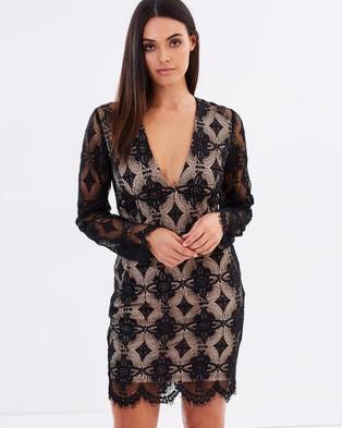 Bless'ed Are The Meek – Annalise Dress Black