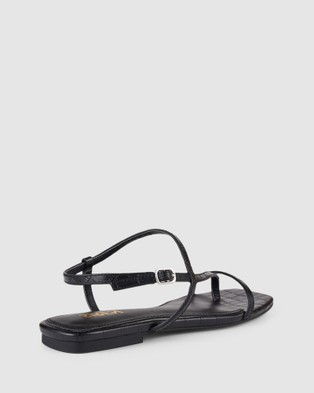 Siren Sahara Sandals Black