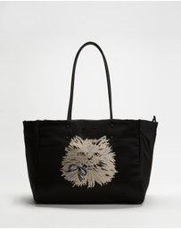 Kate Spade - Everything Puffy Cat Large Tote