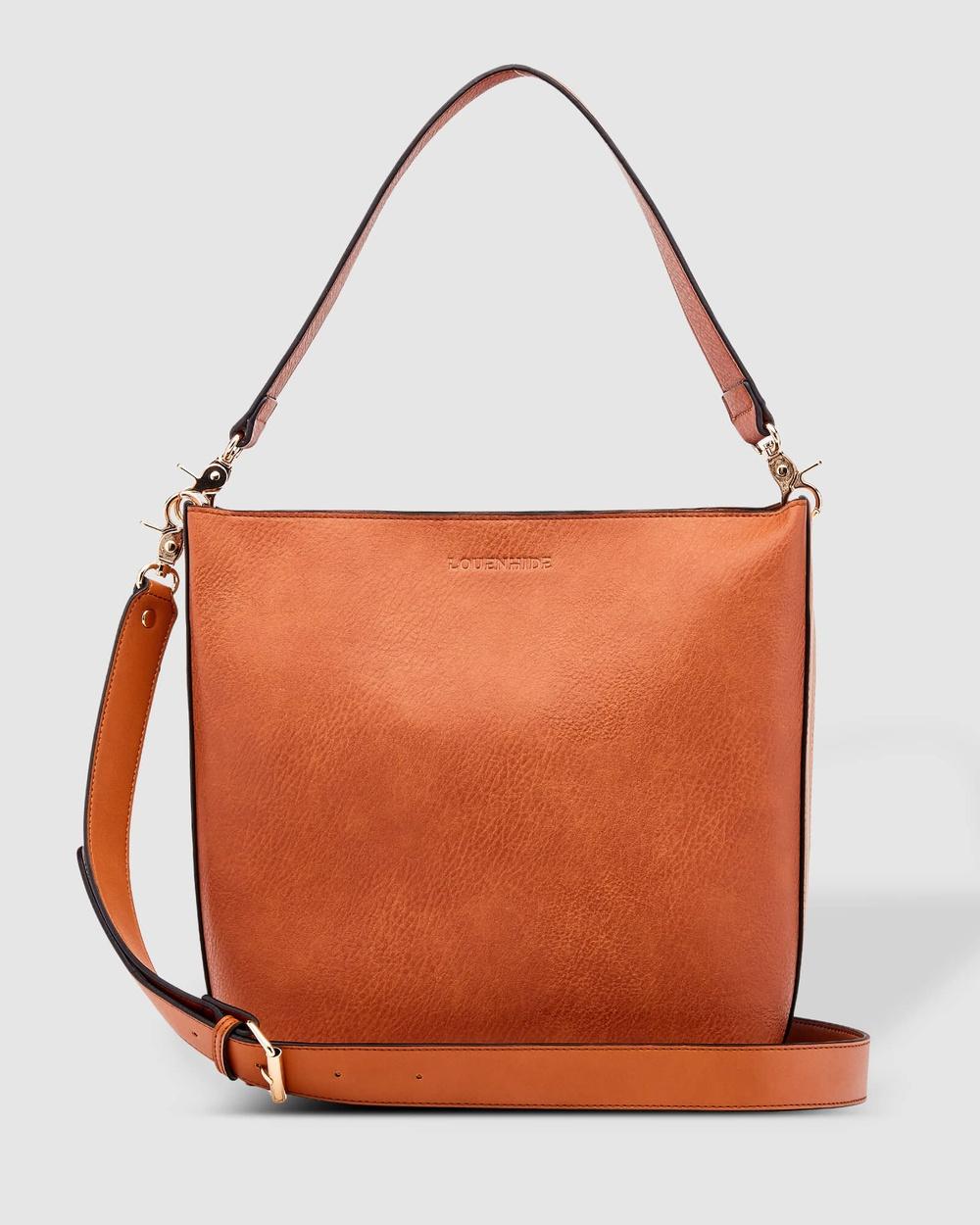 Louenhide Charlie Maxi Bag Handbags Tan