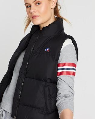Russell Athletic RA Sleeveless Puffer Vest - Coats & Jackets (Black)