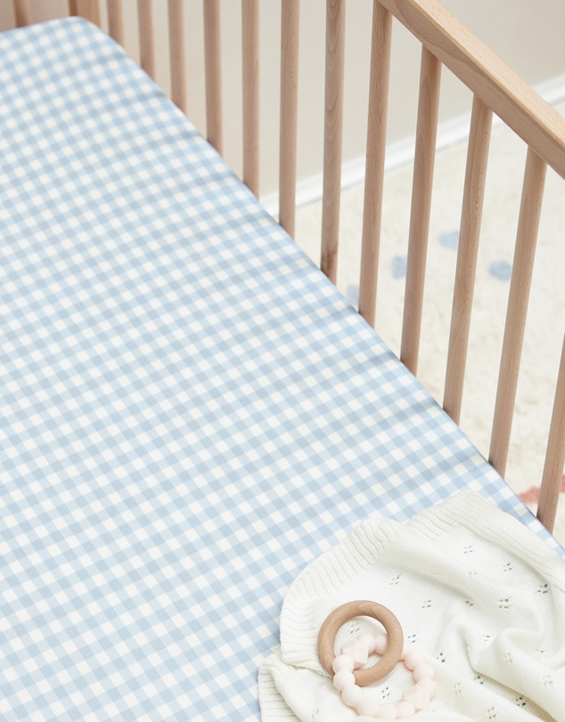 Life Bamboo Jersey Cot Sheets - Fitted