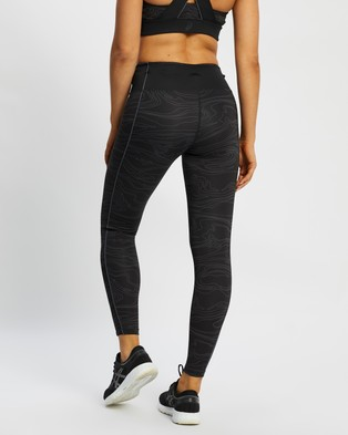 ASICS Piping GPX Tights - Full Tights (Performance Black & Carrier Grey)