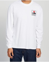 Edwin - Sunset on Mt. Fuji Long Sleeve T-Shirt