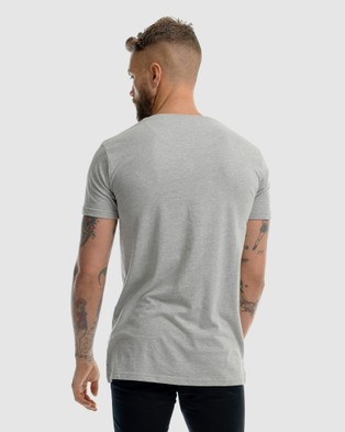 First Division First Embroidery Tee - T-Shirts & Singlets (GREY)
