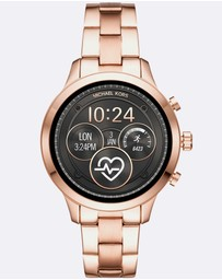 Michael Kors - Runway Rose Gold-Tone Smartwatch