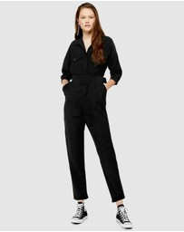 TOPSHOP - Covered Belt Boiler Suit