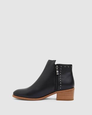 Jane Debster David - Mid-low heels (BLACK)