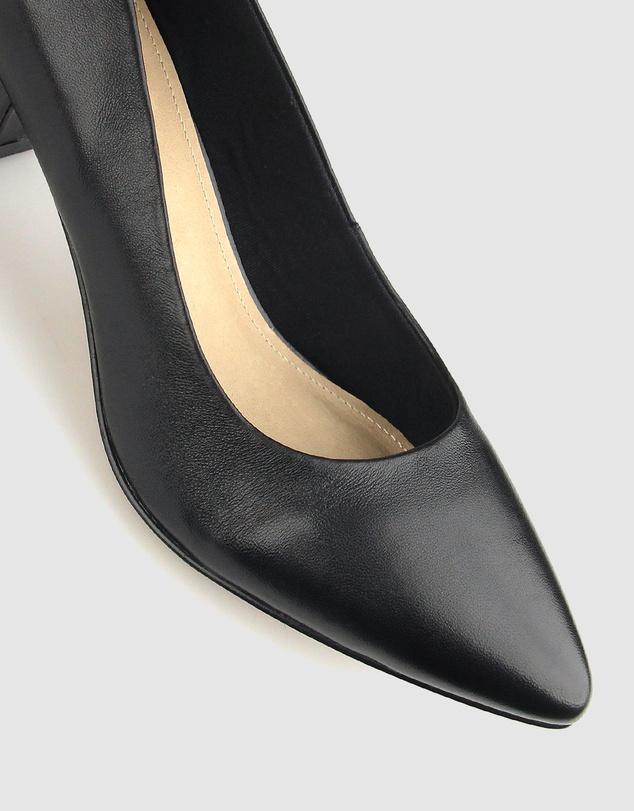 Women Sabrina Block Heel Pumps