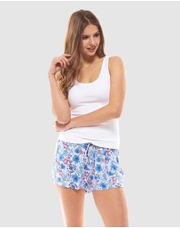 Deshabille Sleepwear  - Petals Shorts In Bag