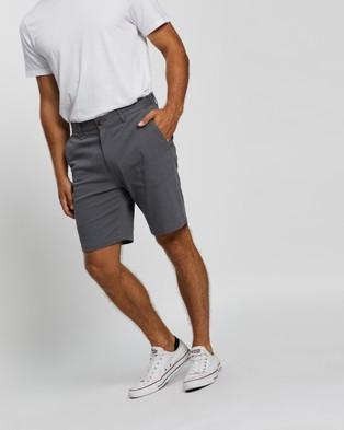 Staple Superior Organic Organic Casual Chino Shorts - Chino Shorts (Storm Blue)
