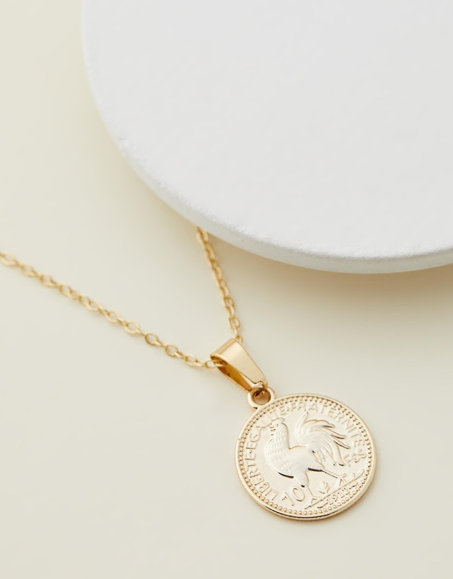 Reliquia Jewellery - Mini Gold Coin Necklace