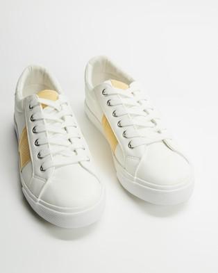 Dorothy Perkins - Irina Trainers Sneakers (White)