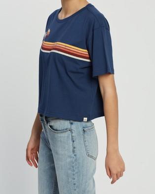 Rip Curl Golden Days Crop Tee - T-Shirts & Singlets (Mid Blue 89)