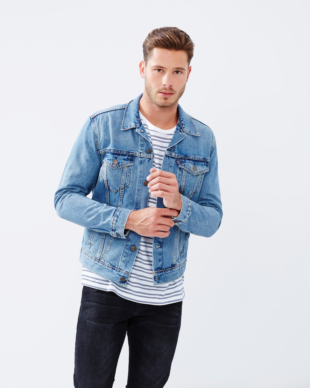 2a63f9428fb4f8 The Trucker Jacket by Levi's Online | THE ICONIC | Australia
