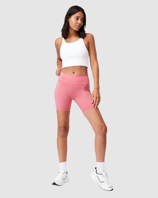 Cotton On Body Active Active Core Bike Shorts - 1/2 Tights (Bubblegum Marle)