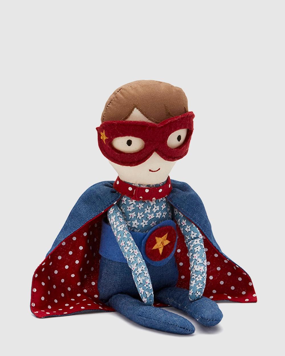 Nana Huchy Super Boy Doll All toys Blue