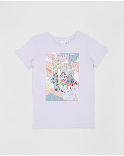 Cotton On Kids - Lux Short Sleeve Tee - Kids