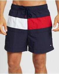 Tommy Hilfiger - Core Flag Medium Drawstring Swim Shorts