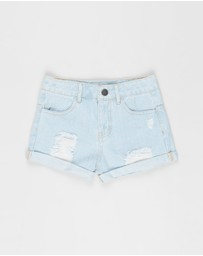 Eve Girl - Blair Denim Shorts - Teens