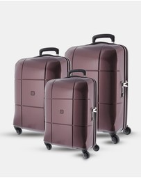 Echolac - Florence Hard Side 3 Piece Set Luggage