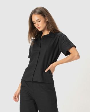 Cools Club - SS Shirt Tops (Black)
