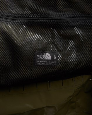 The North Face Base Camp Duffle   L - Duffle Bags (Burnt Olive Green & TNF Black)