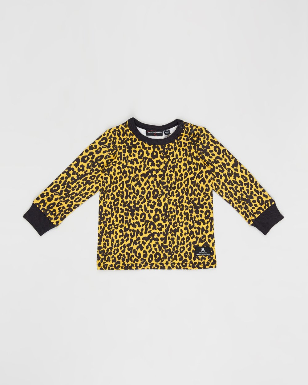 6196c790d4d3 Leopard Skin LS Tee - Babies by Rock Your Baby Online   THE ICONIC    Australia