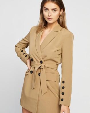 4th & Reckless Ellis Blazer Dress - Coats & Jackets (Slate Grey)