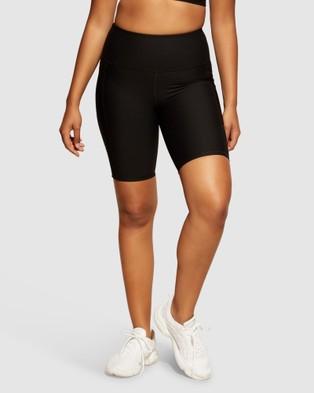 dk active Elite Bike Pant - 1/2 Tights (Black)