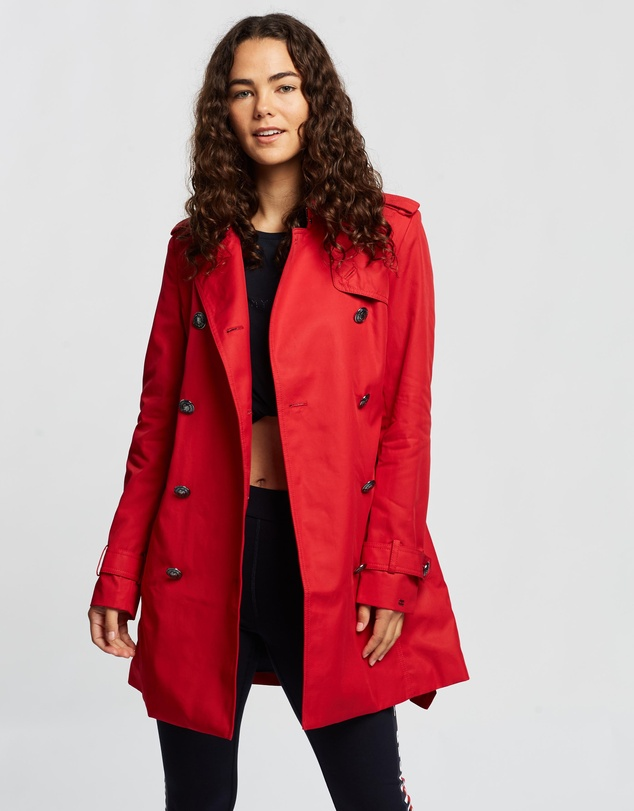 Tommy Hilfiger - Megan Double-Breasted Trench