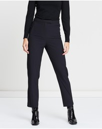 Miss Selfridge - Tab Front Mid-Rise Cigarette Trousers