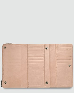 Status Anxiety Audrey   Dusty Pink - Wallets (Dusty Pink)