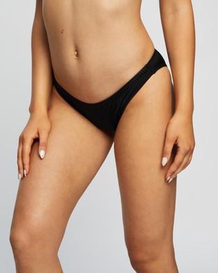 Heidi Klum Swim Sun Muse Shimmer Classic Bikini Briefs - Bikini Bottoms (Black)