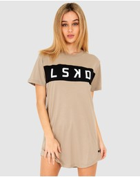 LSKD - Dough Tee Dress