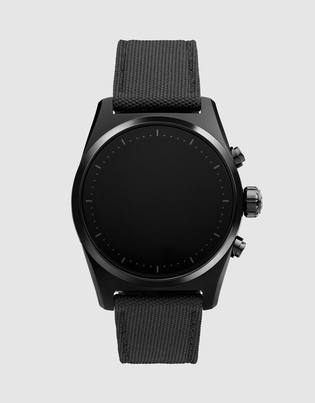 Women Summit Lite Aluminium Black and Fabric Watch