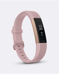 Fitbit - Fitbit Alta HR Rose Gold Limited Edition
