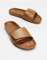 AERE - Tenere Leather Slides