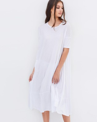 Primness – Pop Midi Dress – Dresses (Blanc)