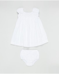 Polo Ralph Lauren - Woven Seersucker Dress - Babies