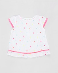 Billieblush - Square Dot Blouse - Babies