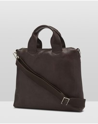 Oxford - Zaven Leather Briefcase