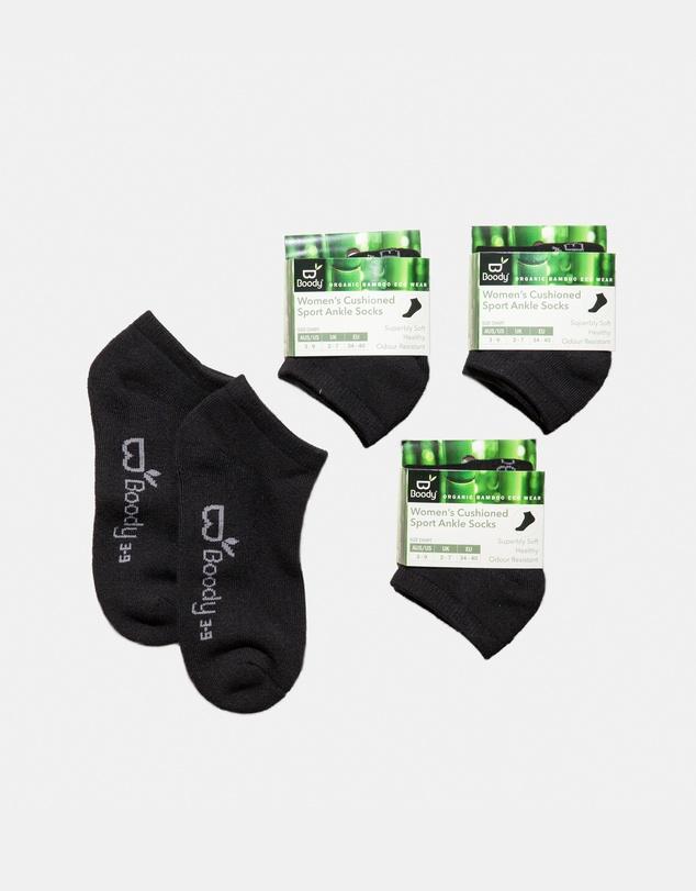 Women 4 Pack Sports Ankle Socks