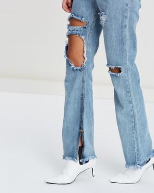 DRICOPER DENIM Normani High Waisted Jeans - High-Waisted (Hi & Lo Stoned)
