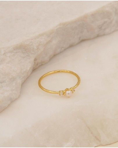By Charlotte - Eternal Peace Gold Ring