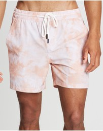 Staple Superior - Tie Dye Swim Shorts